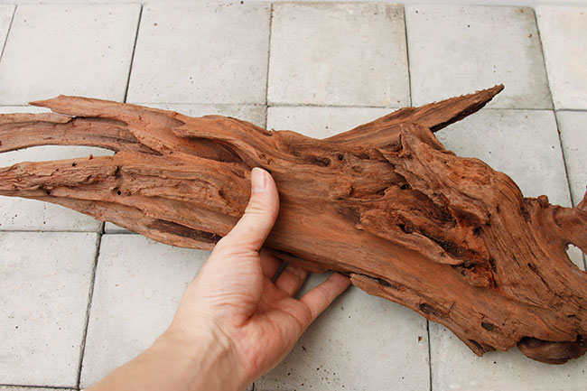 UWS Material Market / Sulawesi Wood 【 スラウェシウッド / 厳選流木 】 【 SW-2009-30 / 3L 】