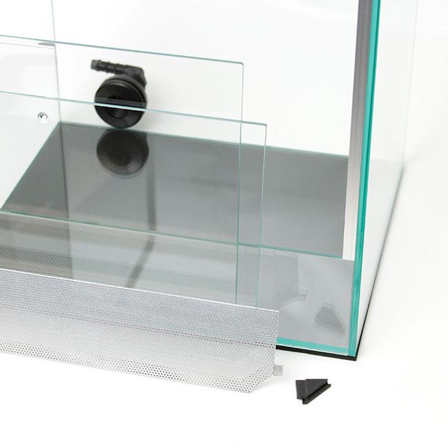 BASE BOX / ベースボックス PD-002 / High type( ハイタイプ )  【 パルダリウム、ビバリウム、コケリウムに最適なスリードア仕様の多用途ガラスケージ / 水槽 】