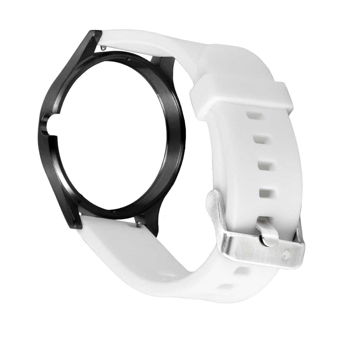 RUBBER STRAP BLACK-WHITE