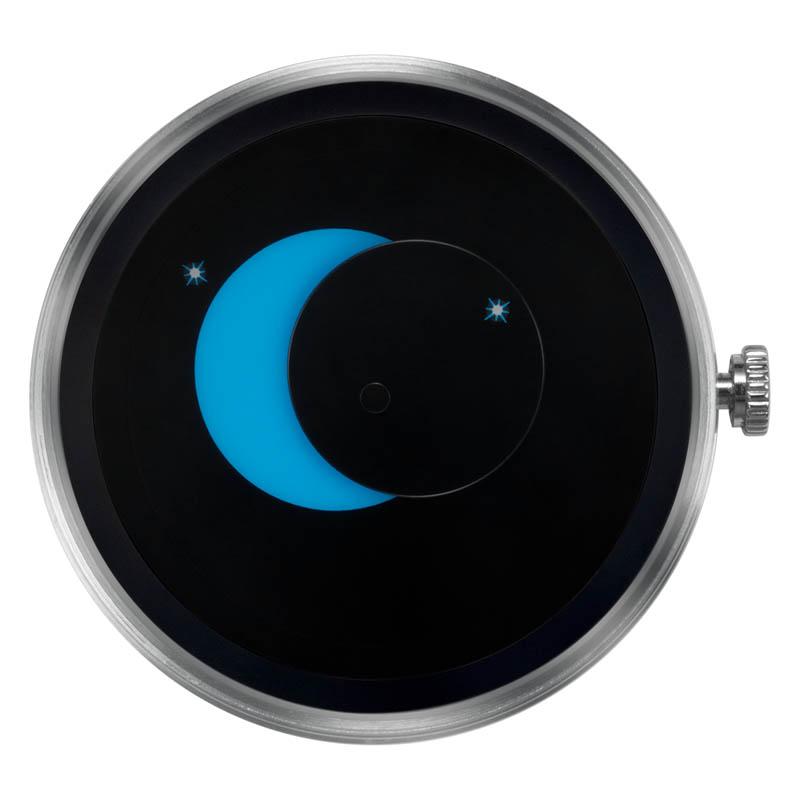 CLOCK BODY SUPER MOON BLUE