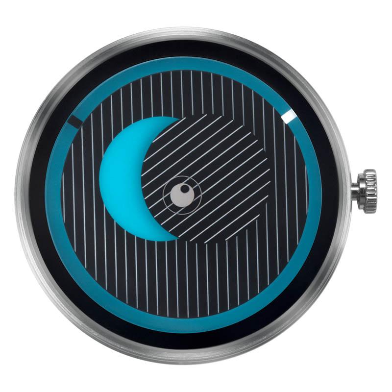 CLOCK BODY SECRET UNIVERSE BLUE