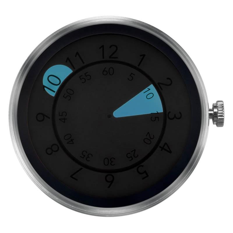 CLOCK BODY AQUA DROP BLUE