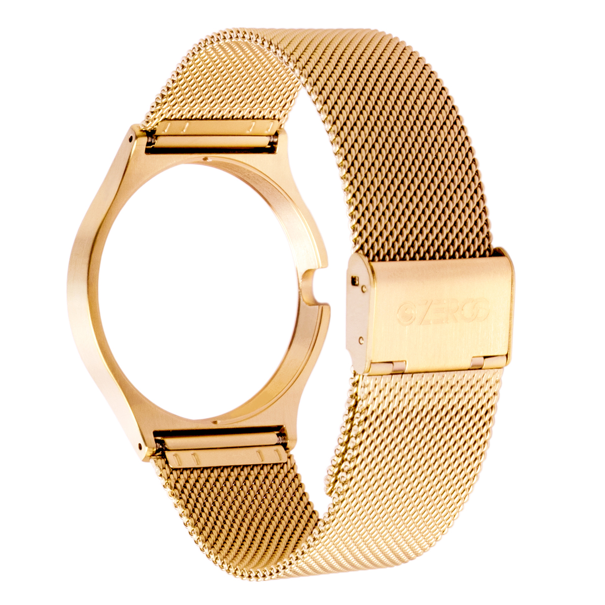 STAINLESS MESH STRAP YELLOW GOLD