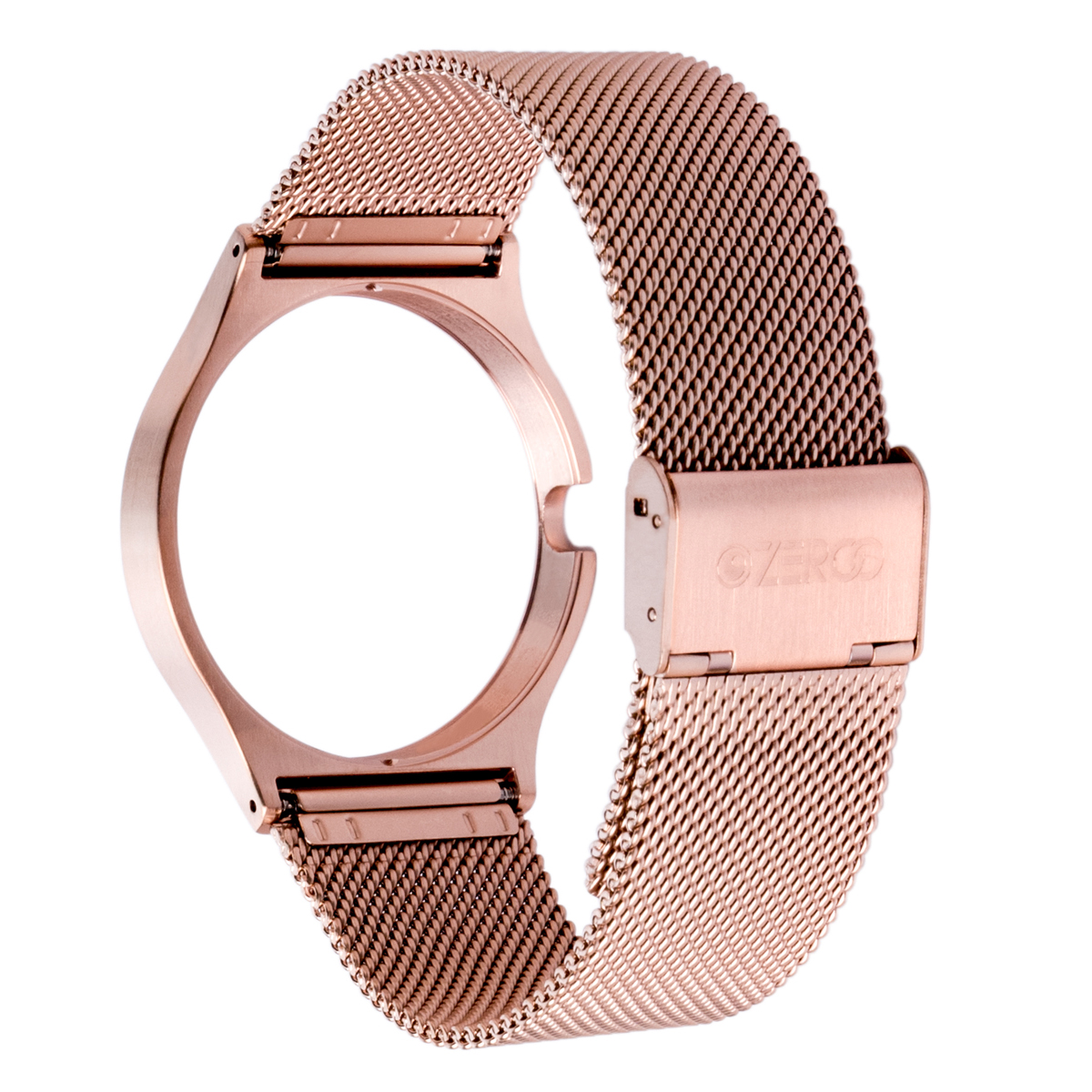 STAINLESS MESH STRAP ROSE GOLD