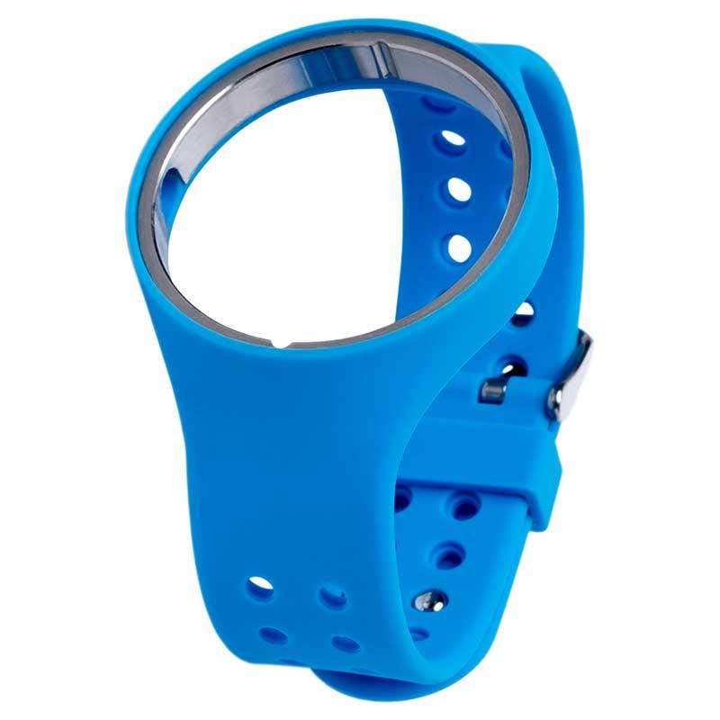 SILICON RUBBER STRAP BLUE