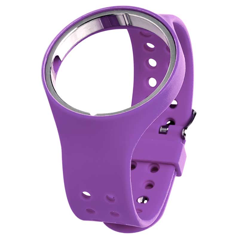 SILICON RUBBER STRAP PURPLE