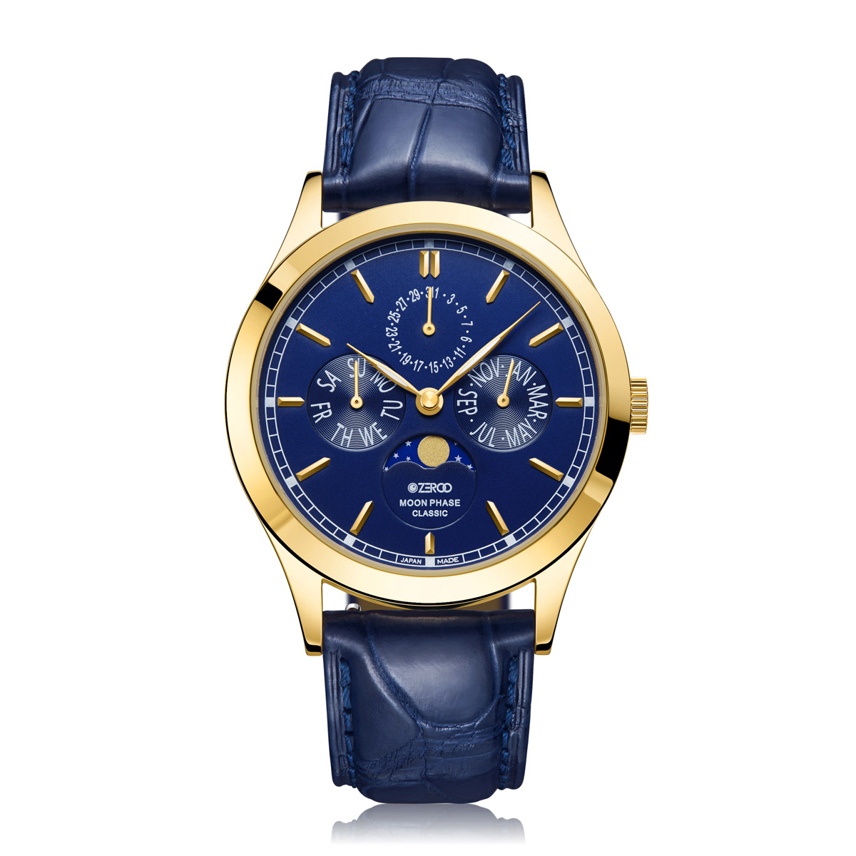 【NEW】CLASSIC MOON PHASE ZC001GBL