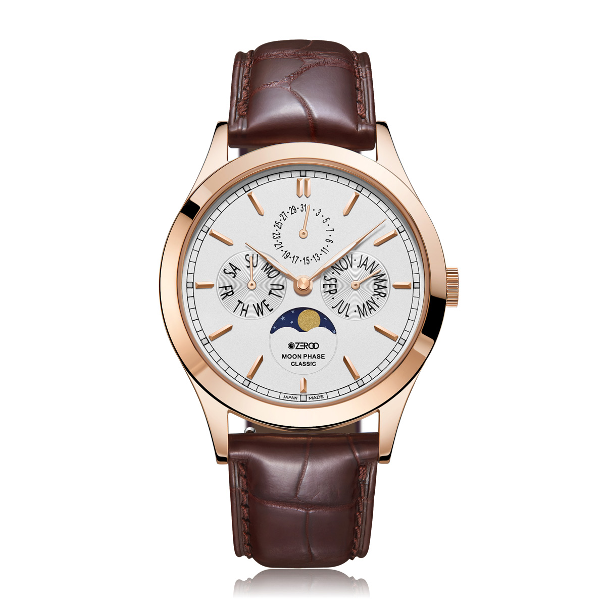 【NEW】CLASSIC MOON PHASE ZC001RWH