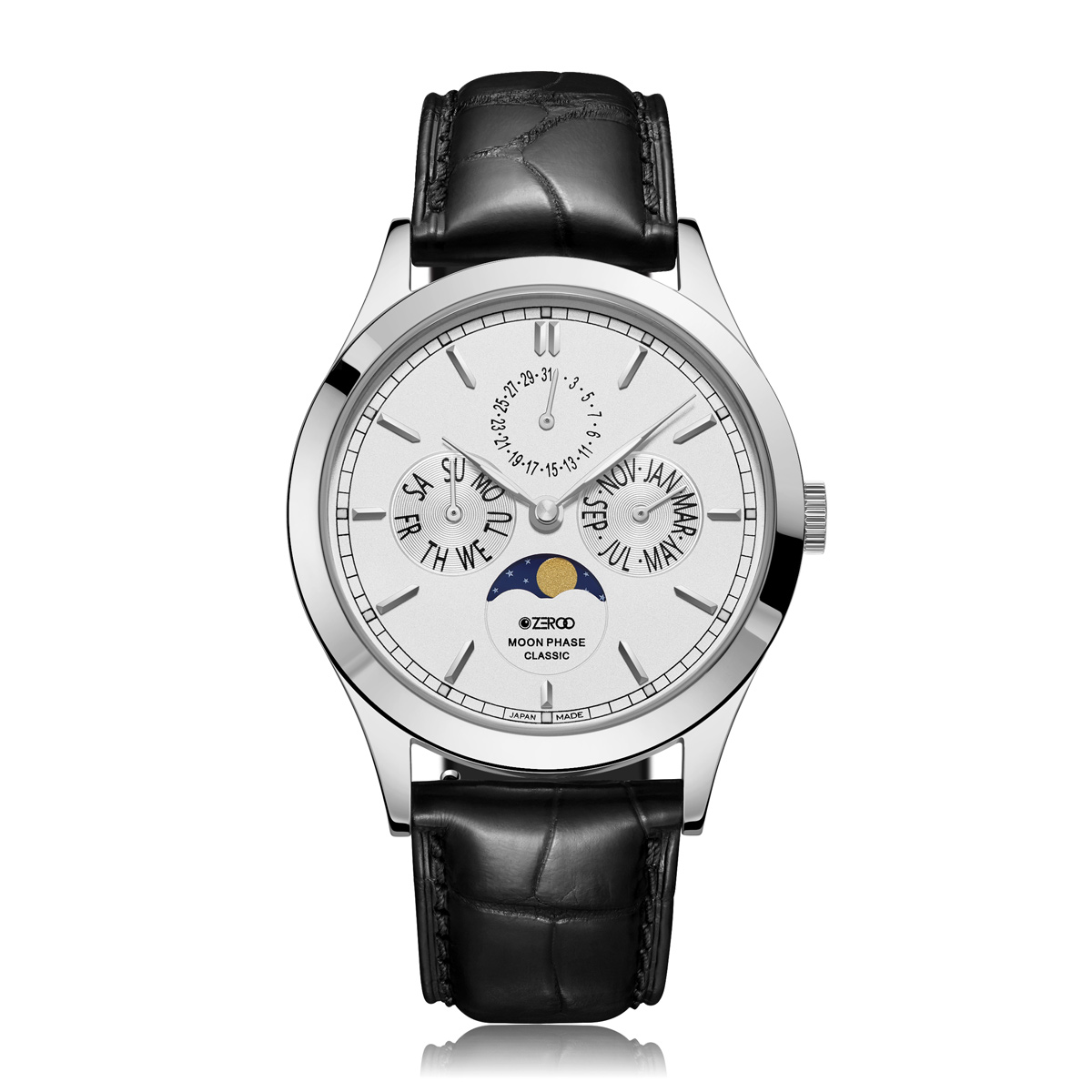 【NEW】CLASSIC MOON PHASE ZC001SWH