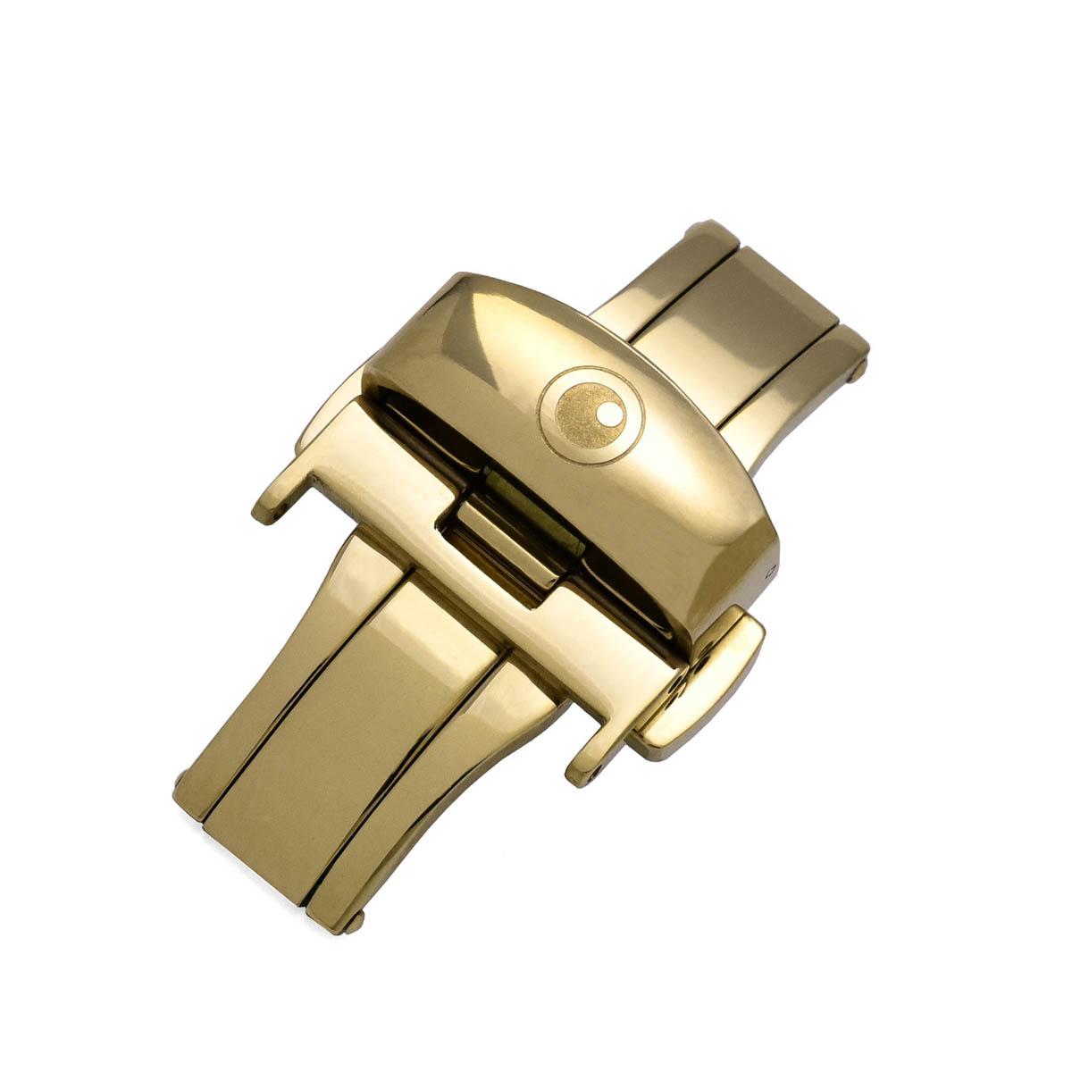 ZEROO CLASSIC D-BUCKLE GOLD