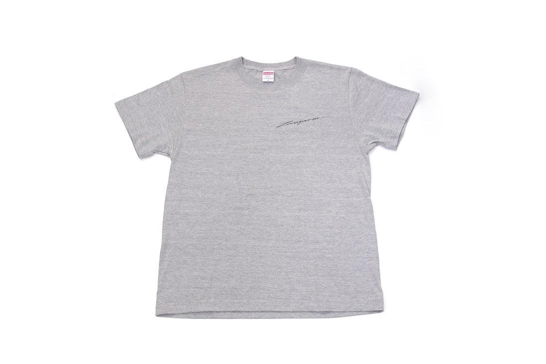 【WEB限定】ZERO/SPORTS オリジナルTシャツ ミックスグレー Lサイズ