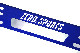 【WEB限定】インナーダクトサポーター ブルー ロゴカットモデル   VAG・VM#