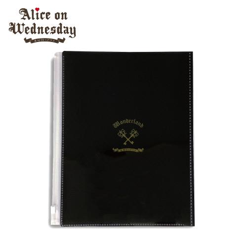 【水曜日のアリス】 クリアファイル2 6ポケット+1ジップバッグ付 全4種