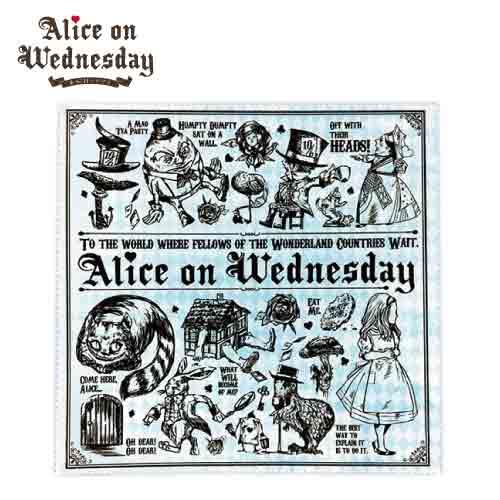 【水曜日のアリス】 マルチクリーナークロス 全4種