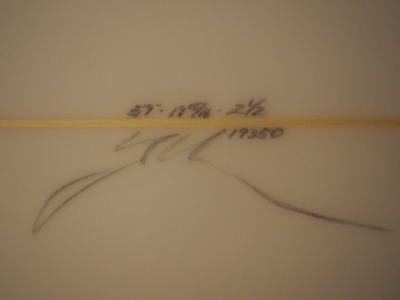 YU Surfboards 5'9 ( 175.26cm ) / Hi Performance Twin Fin ( ハイパフォーマンス ツイン フィン ) / Maron Gerber / サーフボード / ショートボード / YU ( 植田義則 )シェイプ / 通販