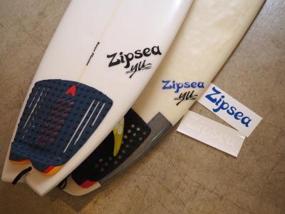 "Zipsea / ""LOGO"" Original Sticker ( オリジナル ステッカー ) / カッティングシートタイプ"