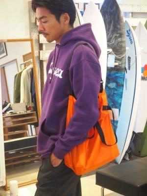 Batten Wear ( バッテンウェア ) /2019SS / PACKABLE TOTE ( パッカブル トート ) / Orange × Black/ MADE IN USA