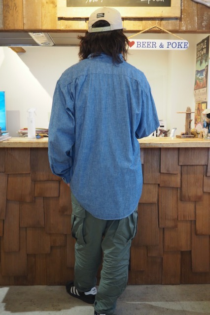 CAL O LINE ( キャルオーライン ) / CHAMBRAY  SHIRTS / 2021FW / BLUE