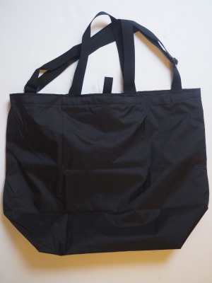 Batten Wear ( バッテンウェア ) /2019SS / PACKABLE TOTE ( パッカブル トート ) /  Black/ MADE IN USA