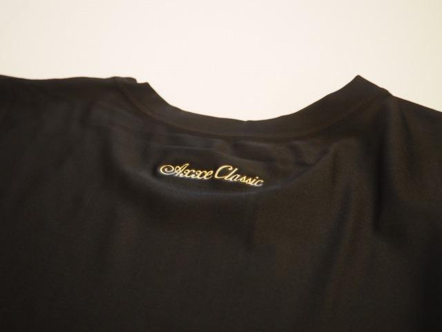 AXXE CLASSIC / AIR FAST ラッシュガードTシャツ / UVカット99%  / 日本製 / BLACK