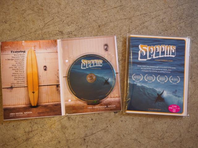 """DVD / """" SPOONS - A Santa Barbara Story / A FILM BY WYATT DAILY"""