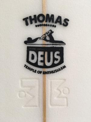 Deus Custom Surfboards (デウス カスタム サーフボード)/ Thomas Bexon (トーマス・ベクソン) / 5'10 (177,80cm) Bonzer / DEUS Bali 買い付け商品