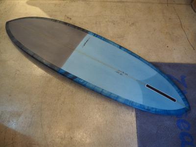 YU CLASSIC Surfboard  6'8 ( 203.20cm )/ YU サーフボード / ミッドレングス サーフボード / Single Fin( シングルフィン ) /  Rio ( 植田梨生 )シェイプ / REEFY ( リーフィー) / 通販 / 送料無料
