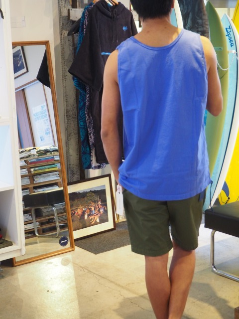 CAL O LINE ( キャルオーライン ) / SOLID COLOR TANK TOP  / 2020SS / Violet