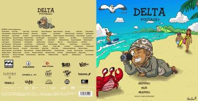 DVD / DELTA FORCE 第二弾 / 最新作 / DELTA - FOOTAGE 1 / 60分