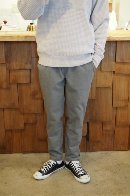 TURN ME ON® ( ターンミーオン  ) / THERMOLITE® 裾ファスナー EASY PANTS / GREY