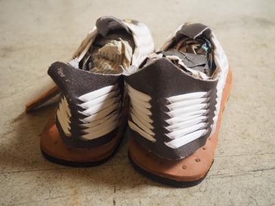 Down To Earth Sandals (ダウントゥー アース サンダルズ ) / ワラチ /  COSTA / White
