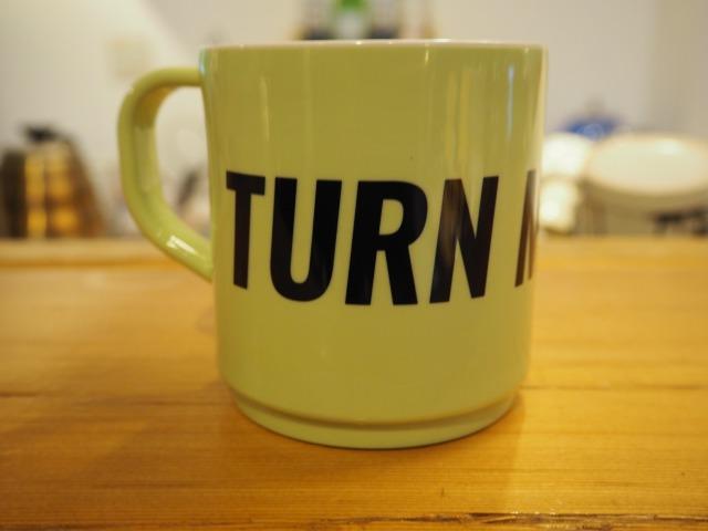 TURN ME ON® ( ターンミーオン  ) / エコメイト  TURN ME ON® MUG / GREEN