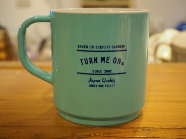 TURN ME ON® ( ターンミーオン  ) / エコメイト  TURN & EASY  MUG / BLUE