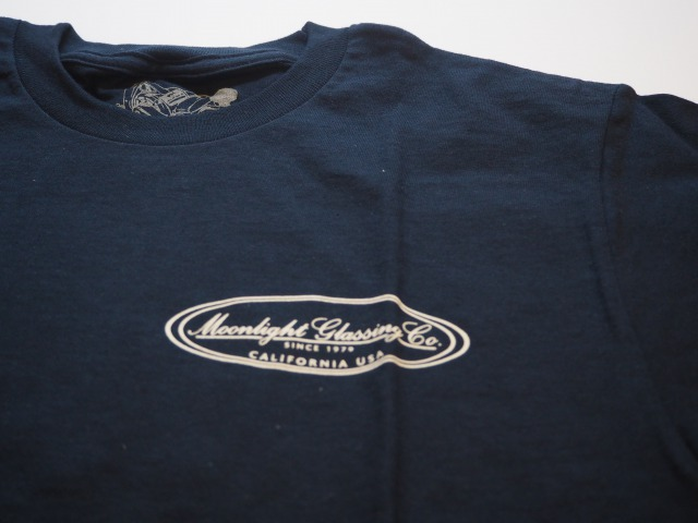 SURFBOARD CRAFTSMEN COLLECTION / OVAL T-SHIRTS / Moonlight Glassing Co. / Navy