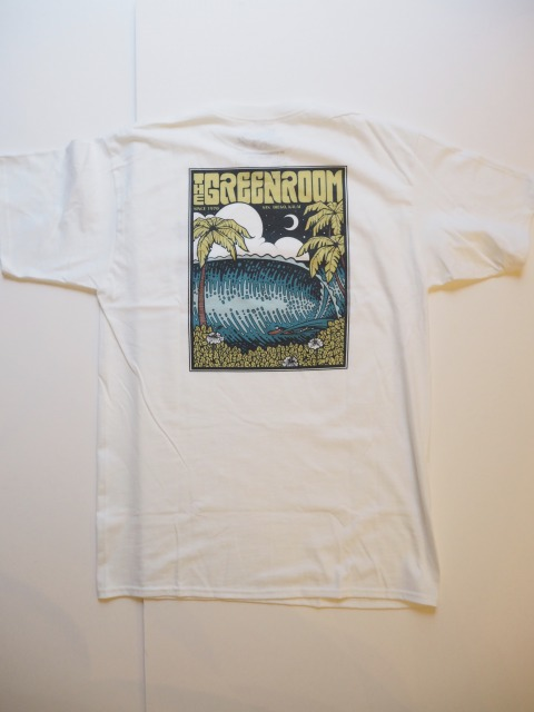 SURFBOARD CRAFTSMEN COLLECTION / GREEN ROOM T-SHIRTS / WHITE