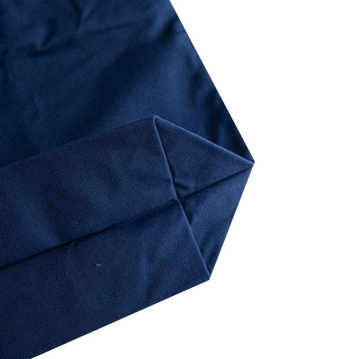 「ゆめ花のお絵描き」アニマルワンダーリゾウトジップトートバッグ(紺)