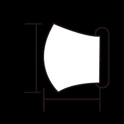 アニマルワンダーリゾウト オリジナルマスク(ホワイト)
