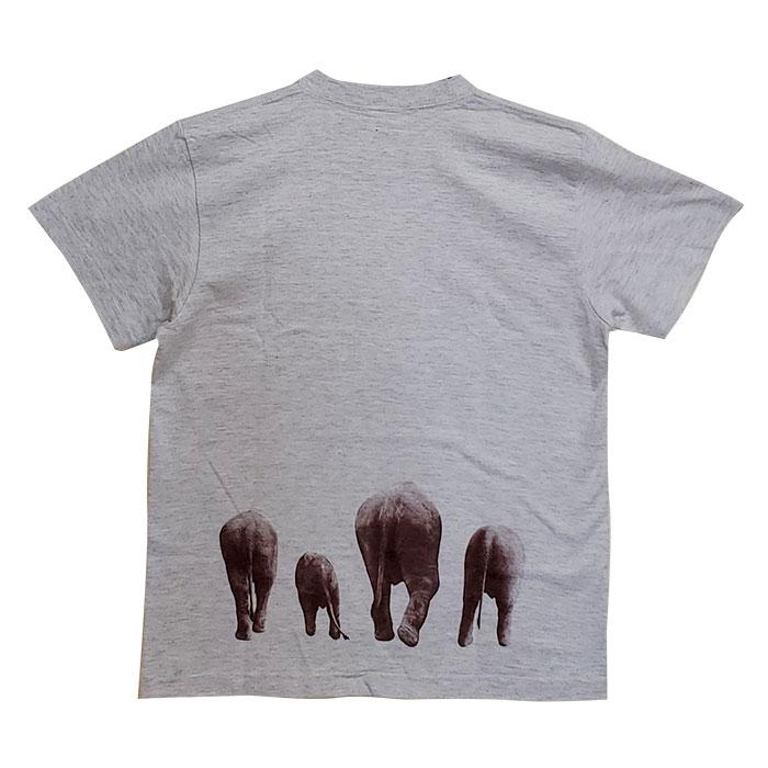 りり香&結希&おしりTシャツ(うすグレー)