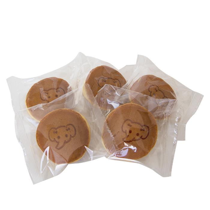 ゾウのミニどら焼き 2個セット