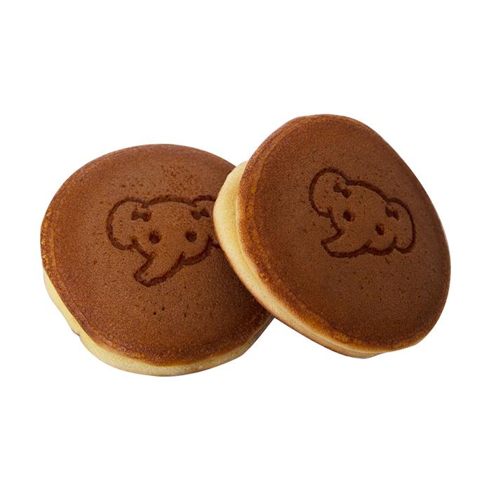 【招待券1枚付き!】ゾウのミニどら焼き 2個セット