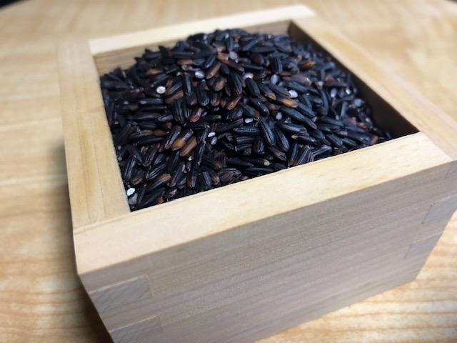 古代米(紫黒米)200g