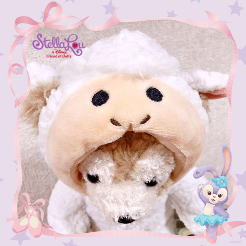 【上海ディズニーグッズ限定品】干支 羊 ダッフィー シェリーメイ ぬいぐるみ