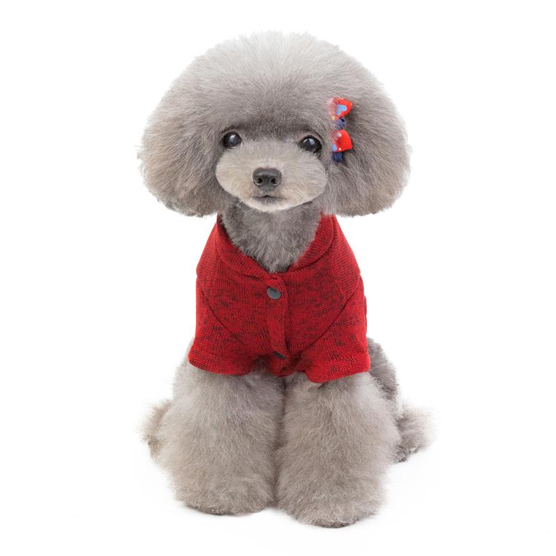 秋冬新作 小型 中型 犬服 猫服 防寒 ドッグウェア  ジャケット セーター ペット服