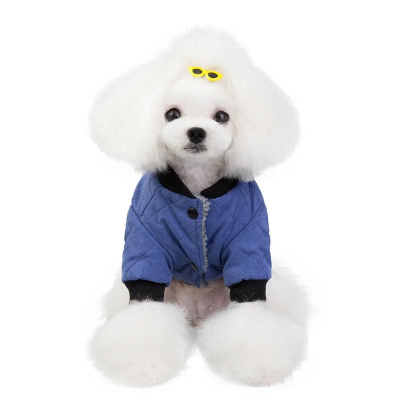 可愛い鹿 クリスマス限定柄 中小型犬服 防寒 ドッグウェア ペット服  ジャケット セーター
