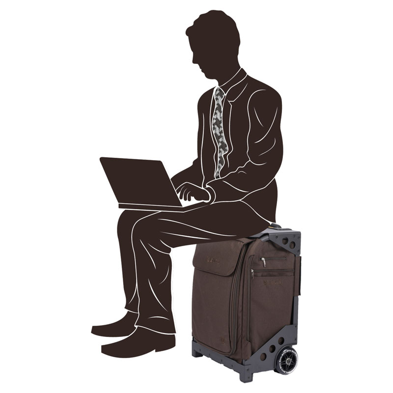 ZUCA FLYER BROWN-LUX Travel