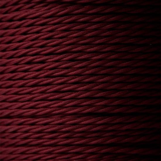 NL BRASS HOLDER & BURGUNDY RED/RAVEN BLACK