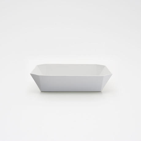 1616 / TY Square Bowl / Plain Gray