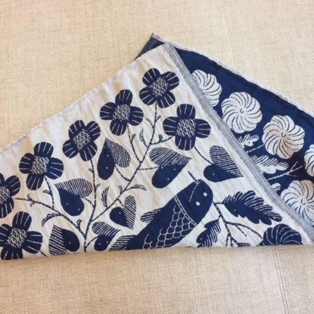 鹿児島 睦 KALA Kitchen Towel 魚