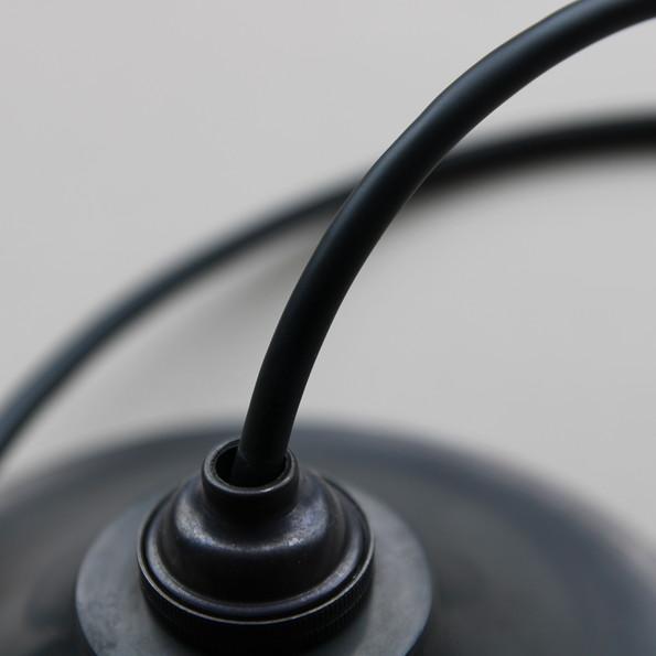 黒染めペンダントライト