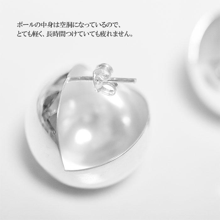 ≪PAZ COLLECTIVE≫ パズ コレクティブ<br>ラウンド ボール スタッズ ピアス シルバー  (Silver)